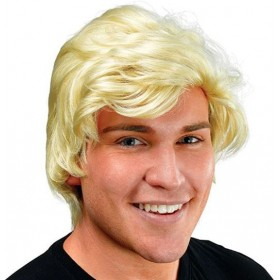 Man'S Blonde Side Parting Wig (Fancy Dress Wigs)