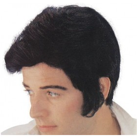 Elvis (Levi) Wig (Music , 1950S Fancy Dress Wigs)