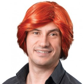 Tony Wig. Ginger (Fancy Dress Wigs)