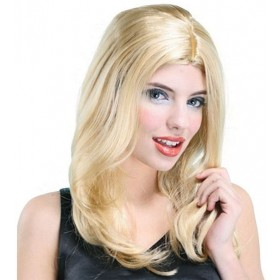 Lisa Wig. Blonde (Fancy Dress Wigs)