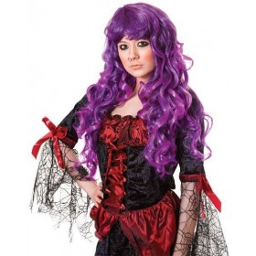 Cheryl Wig. Purple (Halloween Wigs)