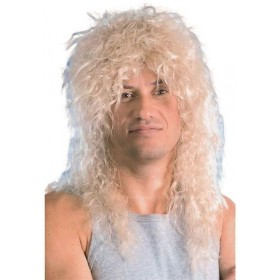 Male Blonde Rock Star Wig (1970S , 1980S Fancy Dress Wigs)