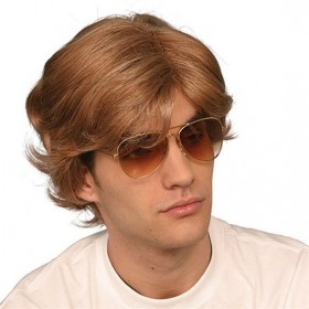 George Michael 80'S Male Wig (1980S Fancy Dress Wigs)