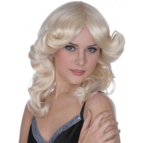Madonna Style Wig. Blonde (1970S Fancy Dress Wigs)
