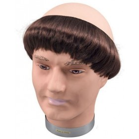 Monk Wig + Short Hair (Vicars/Nuns Fancy Dress Wigs)