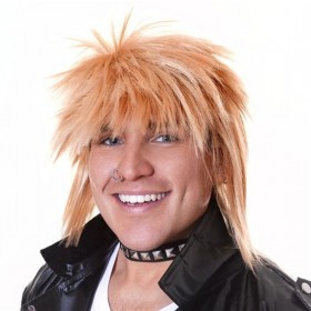 Spikey Wig. Male Blonde (1980S Fancy Dress Wigs)