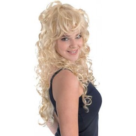 Rock Chick. Blonde (Fancy Dress Wigs)