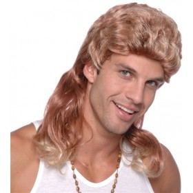 Mullet Wig. 2 Tone Budget (1980S Fancy Dress Wigs)
