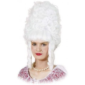 Lady Pompadour. White (Renaissance Fancy Dress Wigs)