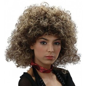 Big Hair Wig 2 Tone 80'S (1980S Fancy Dress Wigs)