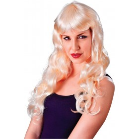 Ladies Temptress Gothic Wig Blonde  Fancy Dress Accessory