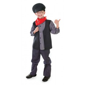Boys Chimney Sweep Fancy Dress Costume
