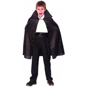 Boys Dracula Cape Fancy Dress Costume