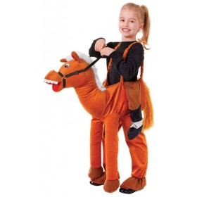 Childs All In One Step In Horse Fancy Dress Costume