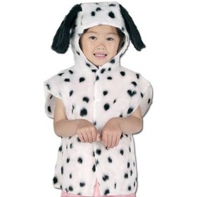Dalmation Fur Tabbard (Animals Fancy Dress)