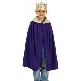 Nativity Tabbard- King. Purple (Royalty , Christmas Fancy Dress)