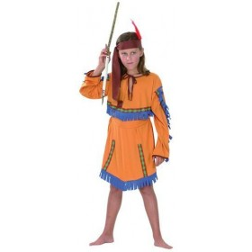 Native American Girl. Budget Fancy Dress Costume