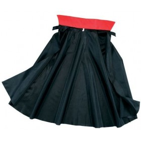 Dracula Cape. Nylon Fancy Dress Costume