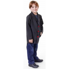 Boys Black (Tailcoat) Fancy Dress Costume