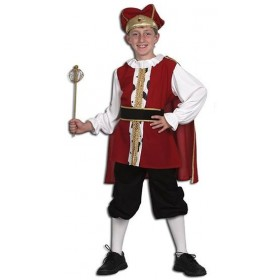 Medieval King Fancy Dress Costume