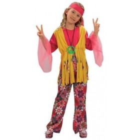 Hippy Girl Fancy Dress Costume