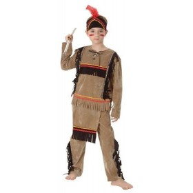 Native American Boy Deluxe Fancy Dress Costume