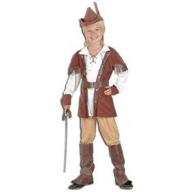 Robin Hood Boy Deluxe Fancy Dress Costume