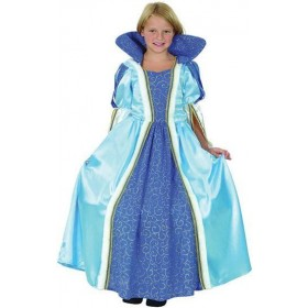 Blue Princess Fancy Dress Costume