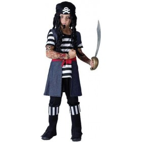 Tattoo Pirate Boy Fancy Dress Costume