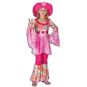 Hippy Diva Fancy Dress Costume