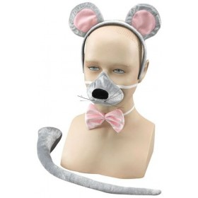 Mouse Set + Sound (Animals Fancy Dress Disguises)