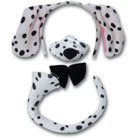 Dalmatian Set + Sound (Animals Fancy Dress Disguises)
