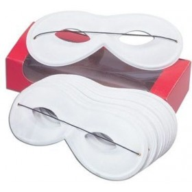 Small White, Domino (Fancy Dress Eyemask)