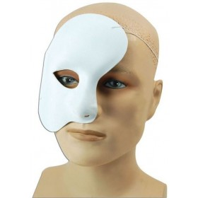 Phantom Mask Fabric Fancy Dress Eyemask