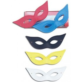 Flyaway Domino Asstd (Fancy Dress Eyemask)
