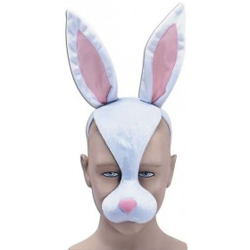 Rabbit Mask & Sound (Animals Fancy Dress Masks)