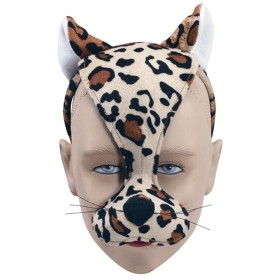 Leopard Mask & Sound (Animals Fancy Dress Masks)