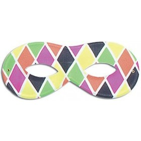 Harlequin Mask, Small Female (Fancy Dress Eyemasks)