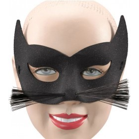 Glitter Cat + Whiskers Eye Mask (Fancy Dress Eyemasks)