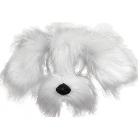 Shaggy Dog. White (Animals Fancy Dress Masks)