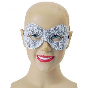 White Lace Domino (Fancy Dress Eyemasks)