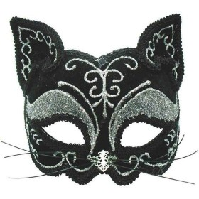 Black Cat Mask Decorative Fancy Dress Eyemask