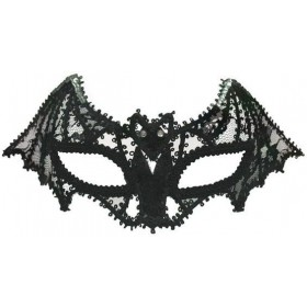 Bat Mask. Lace Fancy Dress Eyemask