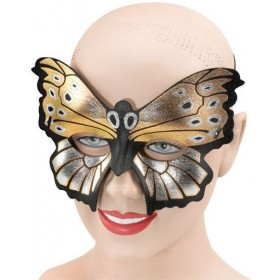 Butterfly Eden Domino Eye Mask (Fancy Dress Eyemasks)