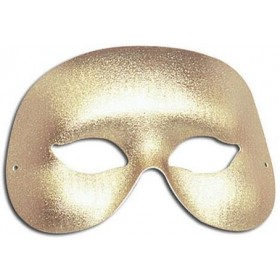 Gold Cocktail Eye Mask (Fancy Dress Eyemasks)