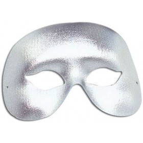 Silver Cocktail Eye Mask (Fancy Dress Eyemasks)