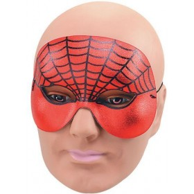 Spiderman Domino Half Face Fancy Dress Eyemask