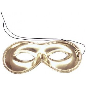 Domino Mask. Gold (Fancy Dress Eyemask)