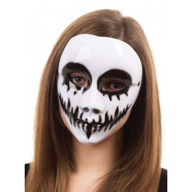 Ladies White Venom Halloween Fancy Dress Mask Glasses Frame