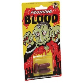 Blood Capsules. Large, Cd/4 (Halloween Fancy Dress)